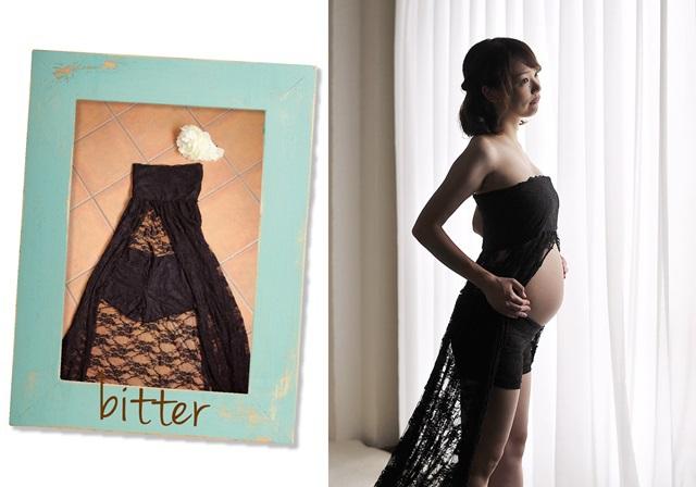 黒のドレスがクールな衣装