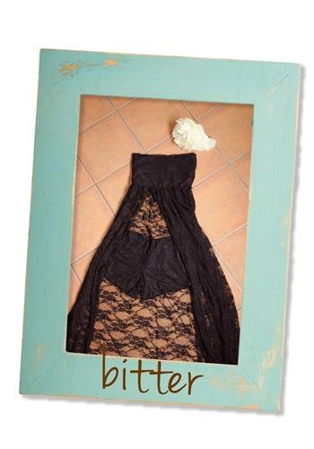 オトナ風ブラックドレスの衣装