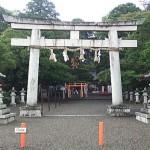 滋賀・賀茂神社の鳥居
