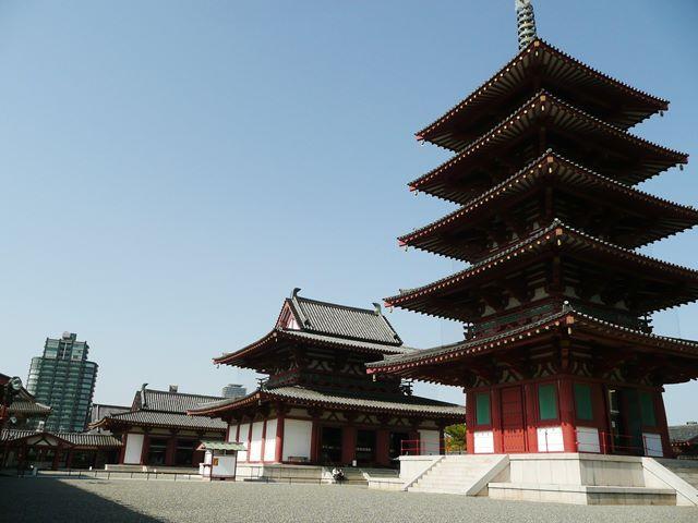 大阪安産祈願で有名な四天王寺