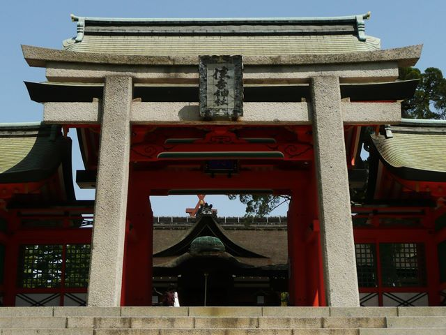 大阪安産祈願で有名な住吉神社