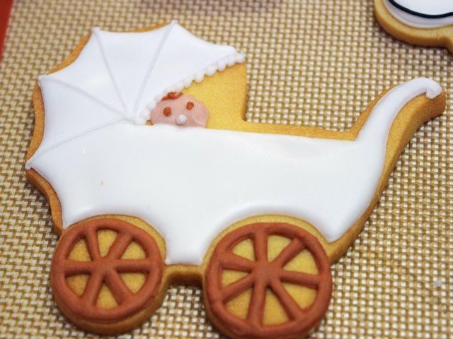 ベビーカーのクッキー