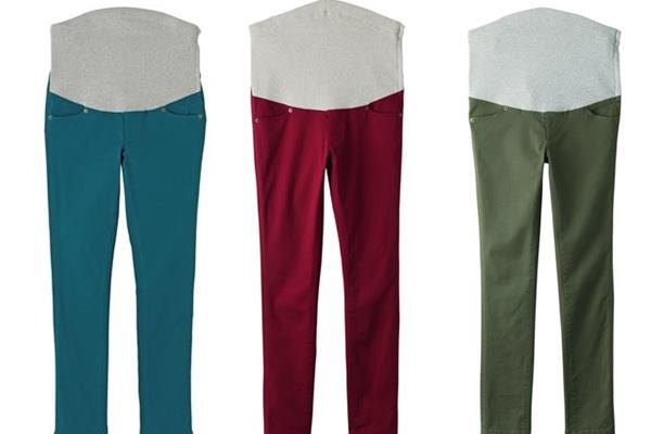P・パンツカラフルストレッチ3色パンツの画像