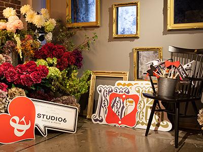 ニューボーンフォトのスタジオ6の店内写真