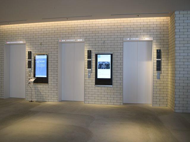 東急プラザ銀座のエレベーターは3機