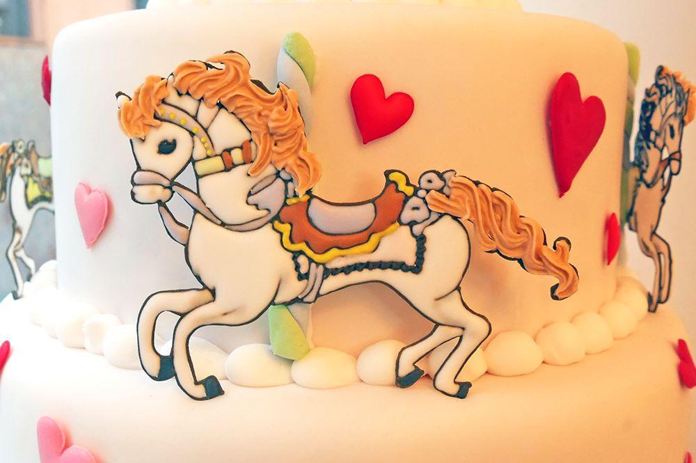 馬のアイシングクッキー